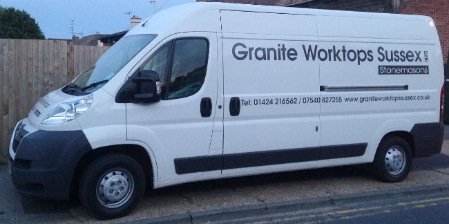 granite worktops van