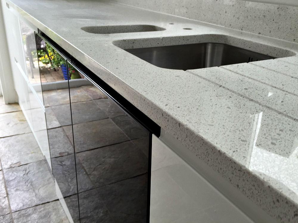 Caesarstone nougat granite worktops sussex - Granite worktops sussex ...